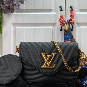 💕LouisVuitton💕New Wave Multi Pochette Bag